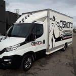 Impact communication marquage véhicules camion en Normandie