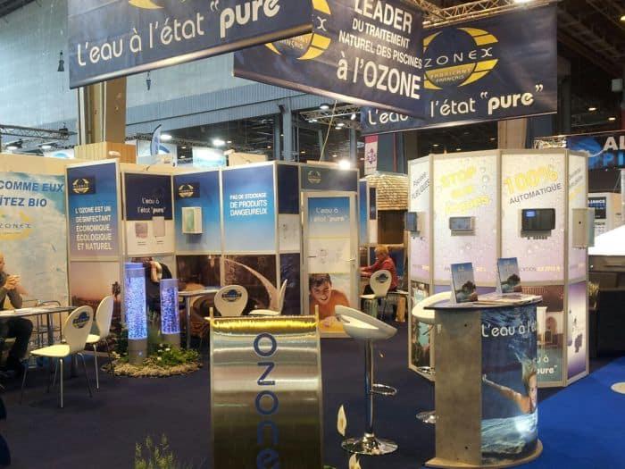 Impact communication réalisation stand pour Ozonex à Saint-Marcel (27)