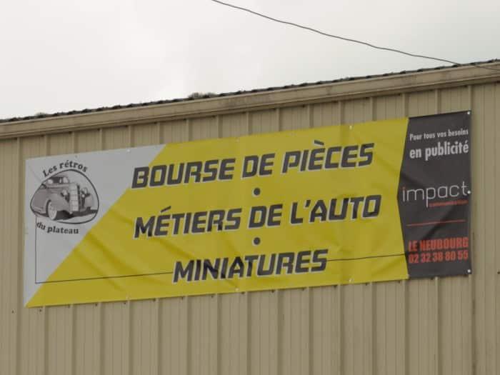 impact communication réalisation de bâches et de banderoles pour l'association les rétros du plateau (27)