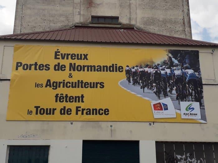 impact communication réalisation de bâches et de banderoles pour Evreux Portes de Normandie (27)