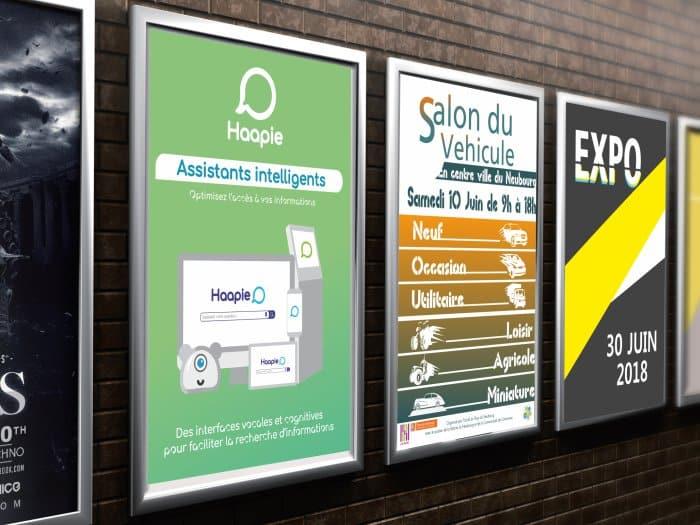 impact communication impression affiches au Neubourg