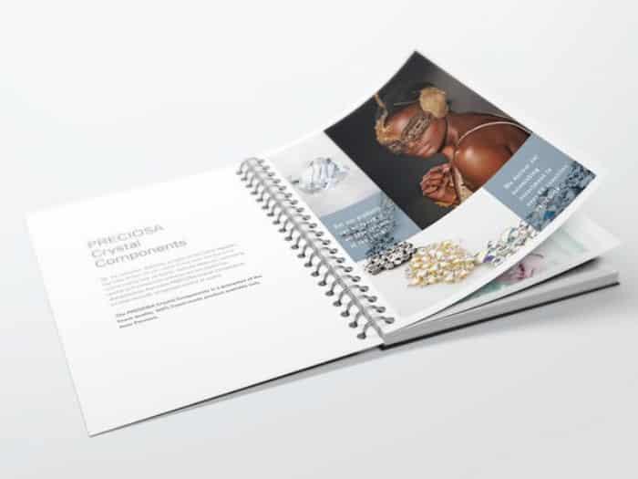 impact communication réalisation et impression brochures et catalogues avec spirale métallique