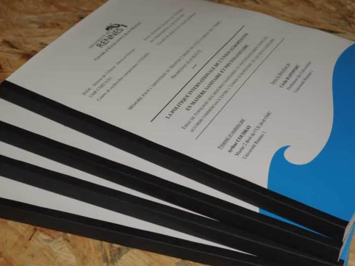 impact communication impression documents reliés : mémoire, rapport de stage, thèse, dans l'Eure près d'Evreux (27)