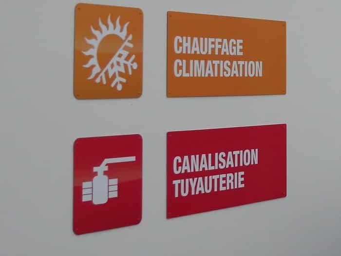 impact communication fabrication panneaux découpés à la forme Mabille