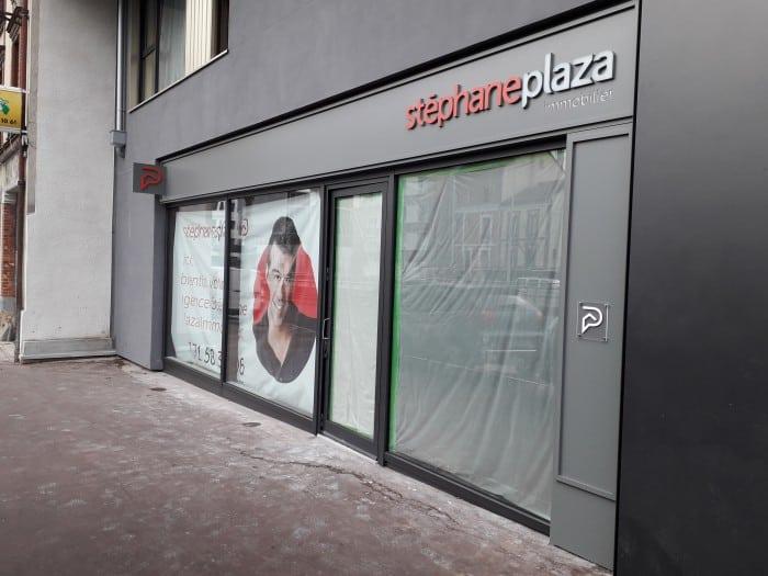 impact-communication-réalisation-enseigne-agence-stephane-plaza-nanterre