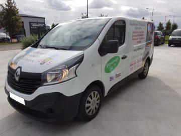 impact réalisationimpact réalisation - flocage véhicule - GPS - entreprise de plomberie et électricité - entre Evreux et Dreux