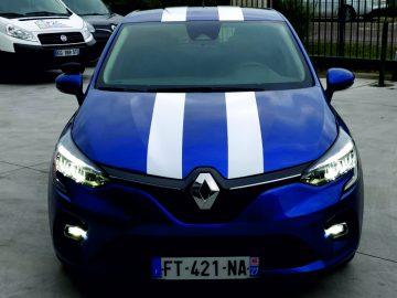 Marquage Clio 4 pour l'auto école Gaillard situé au Neubourg dans l'Eure (27)