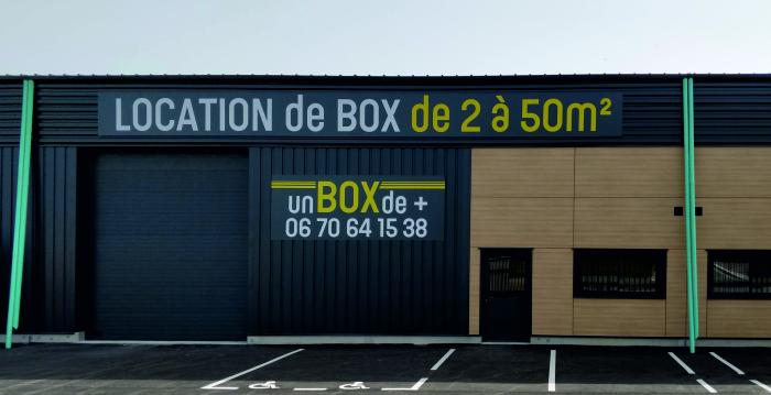 la société Un Box de Plus après travaux